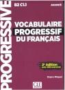 Vocabulaire progressif du Francais avance książka + CD Miguel Claire