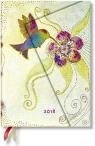 Kalendarz książkowy midi 2018 12M Hummingbird