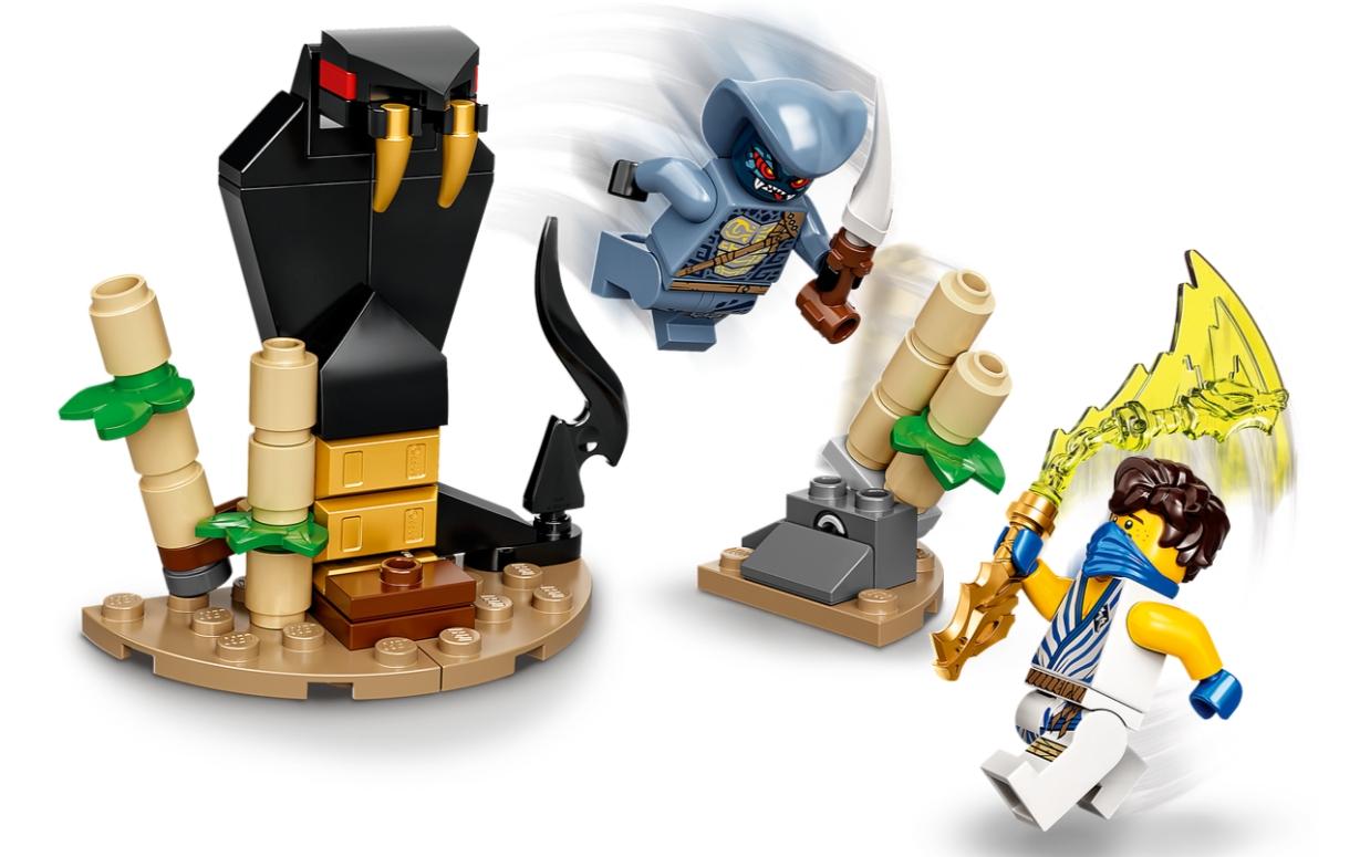 Lego Ninjago: Epicki zestaw bojowy - Jay kontra Wężon (71732)