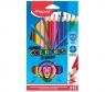 Kredki Colorpeps Strong Jumbo 12 kolorów