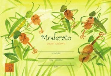 Zeszyt nutowy - Moderato