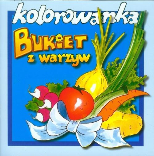 Bukiet z warzyw Kolorowanka