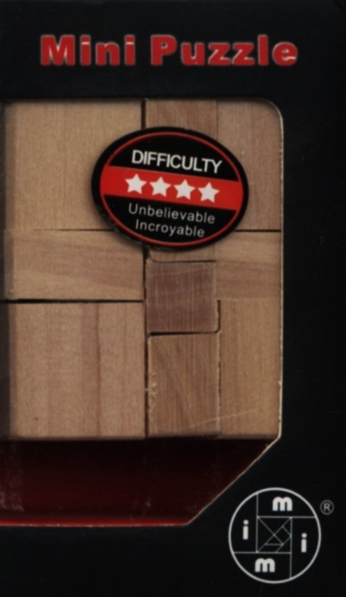 Łamigłówka Drewniana Typ 7