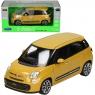 WELLY Fiat 500L 2013, żółty (WE24038)