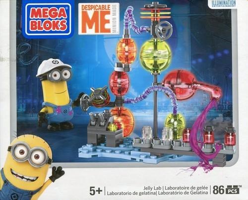 Mega Bloks Minionki Zestaw laboratorium