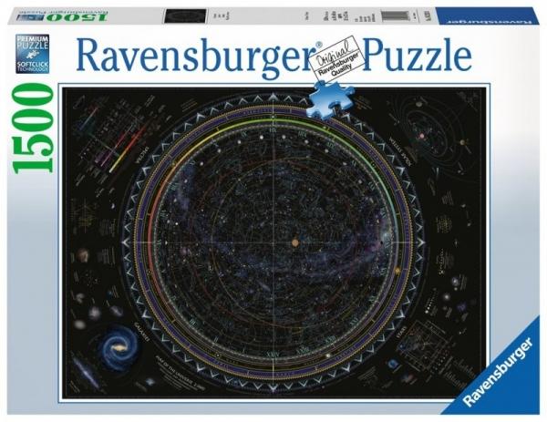 Puzzle 1500 elementów - Przestrzeń kosmiczna (162130)