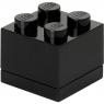 Lego, minipudełko klocek 4 - Czarne (40111733)