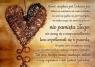 Kartka składana - Hymn o miłości - BRĄZ SZK 038
