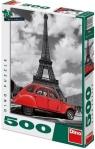 Puzzle Citroen przy Wieży Eiffel 500 elementów