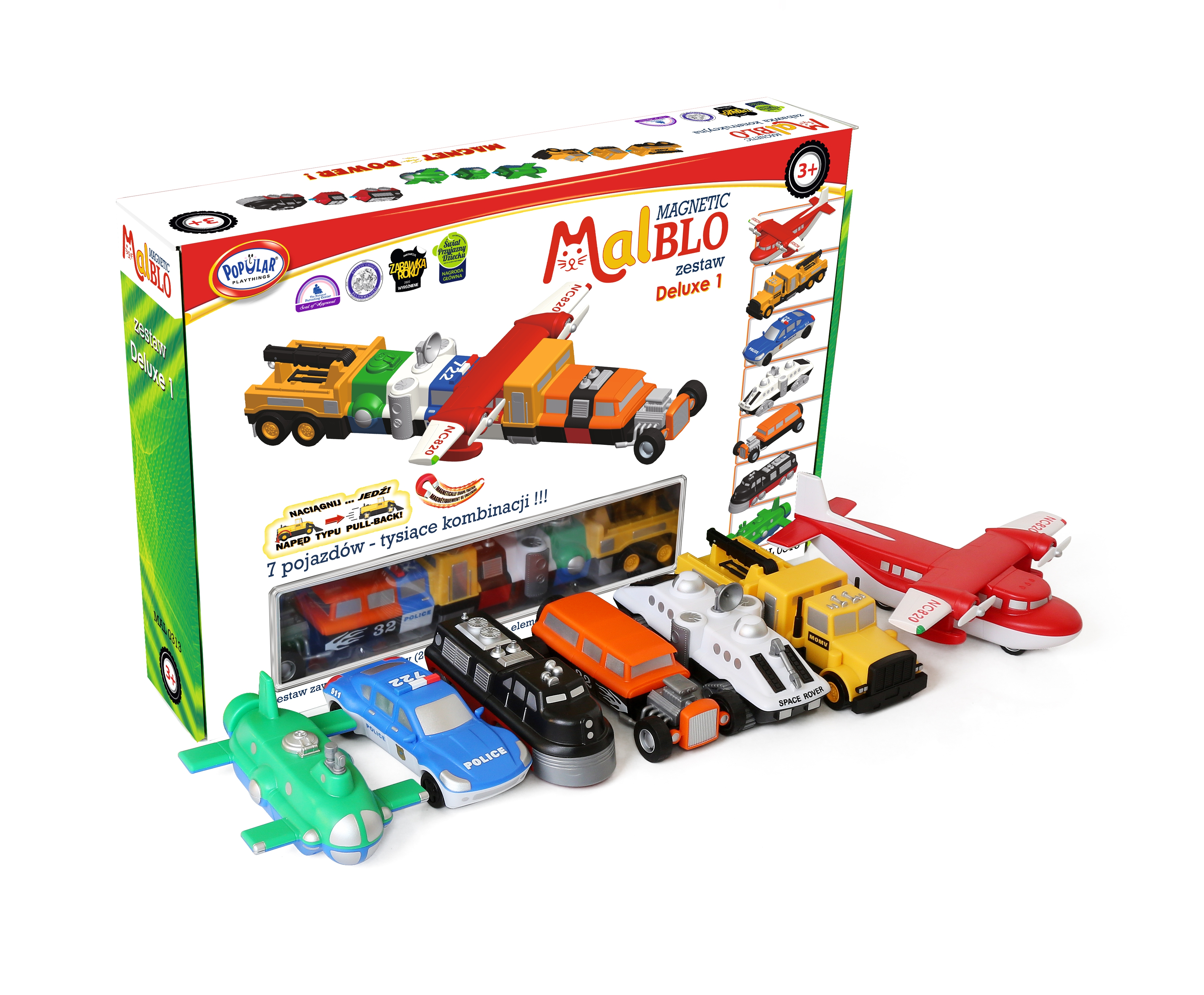 MalBlo, Magnetic Deluxe 1 (MAL 0313)