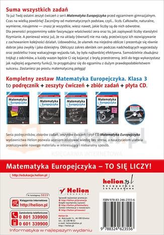Matematyka Europejczyka 3 Zeszyt ćwiczeń Część 2 Madziąg Ewa, Muchowska Małgorzata