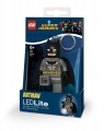 Brelok do kluczy z latarką LEGO®: DC Super Heroes - Grey Batman (LGL-KE92)