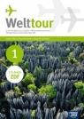 Welttour 1 Język niemiecki Podręcznik z zeszytem ćwiczeń + 2 CD