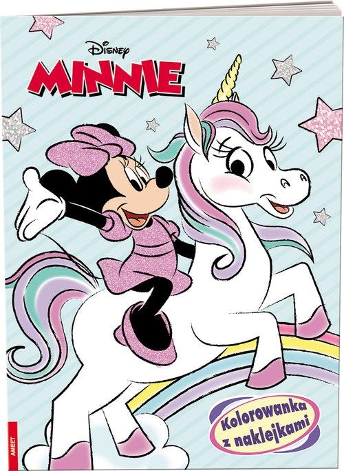 Minnie - Kolorowanka z naklejkami (NA-9106)