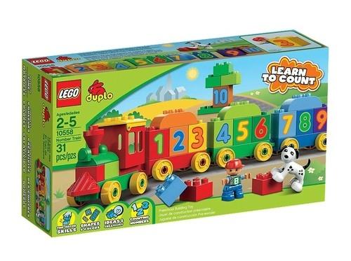 Lego Duplo Pociąg z cyferkami (10558)