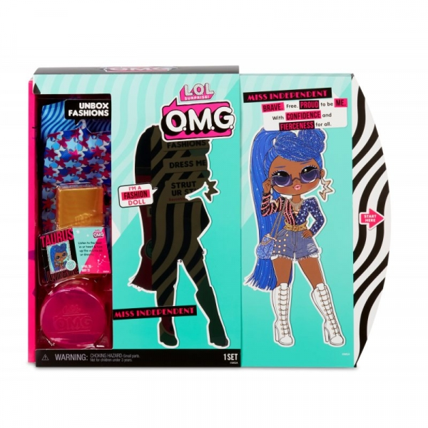 L.O.L. Surprise! - Lalka O.M.G. Miss Independent Fashion (565130)