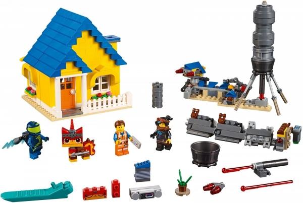 Lego Movie: Dom Emmeta/Rakieta ratunkowa (70831)