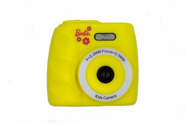 Cyfrowy aparat fotograficzny Barbie żółty (BB-KIDCAM20-Y)