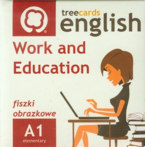 FISZKI Treecards Work and Education A1 Vocabulary