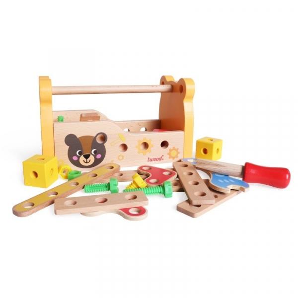 Skrzynka mechanika drewniana (13015)