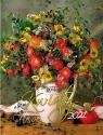 Kalendarz 2021 Kwiaty