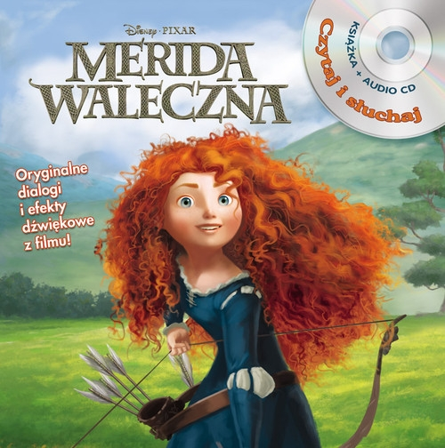 Merida Waleczna Czytaj i słuchaj + CD