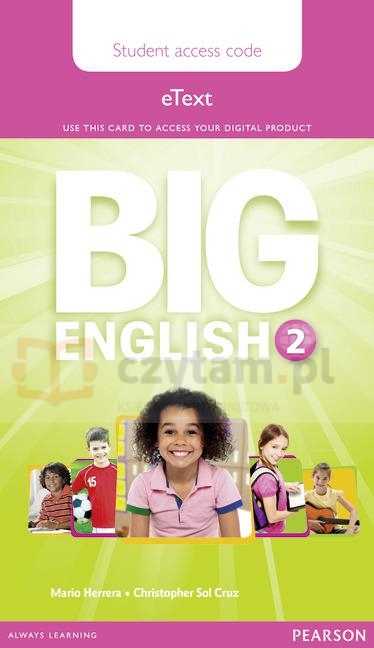 Big English 2 Pupil eText AccessCodeCard