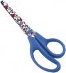Nożyczki z nadrukiem flowers 13cm