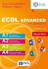 ECDL Advanced na skróty Edycja 2015 Żarowska-Mazur Alicja, Węglarz Waldemar
