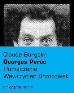 Georges Perec Burgelin Claude