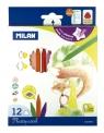 Kredki Milan Plastipastel  12 kolorów
