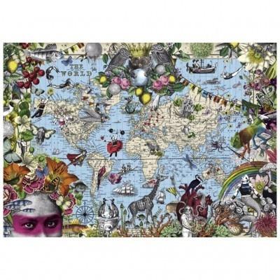 Puzzle 2000 elelementów Dziwny Świat (29913)