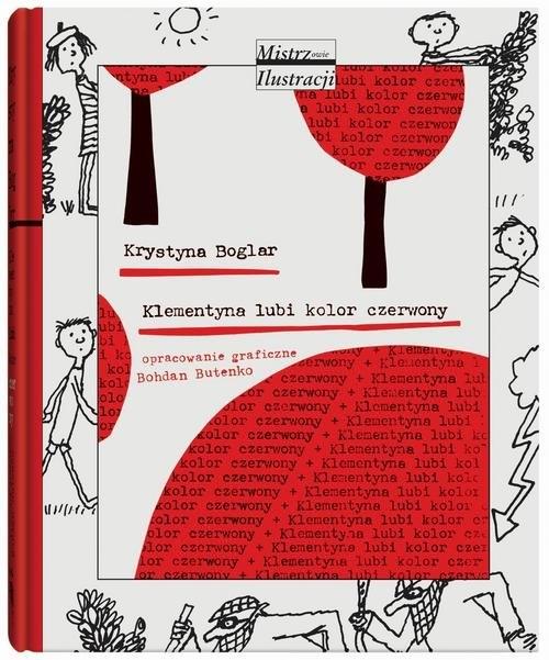 Klementyna lubi kolor czerwony Boglar Krystyna