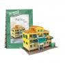 Puzzle 3D: Domki świata - Włochy, Traditional Residence (306-23113)