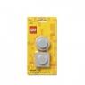 Zestaw magnesów LEGO - szare (40101740)