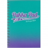 Kołozeszyt Pukka Pad Project Book Fusion a5 200k kratka morski (8413-fus)