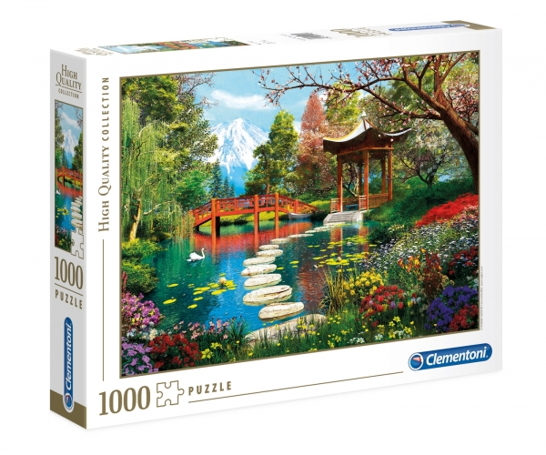 Puzzle High Quality Collection 1000: Ogród Fuji (39513)