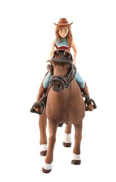 Schleich 42514 Hannah i koń Cayenne