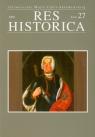 Res Historica Tom 27