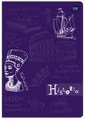 Zeszyt A5 60 kartek, kratka - historia