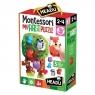 Montessori:  Pierwsze Puzzle - Las