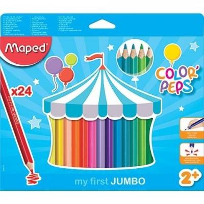 Kredki Jumco Colorpeps Early Age 24 kolory MAPED