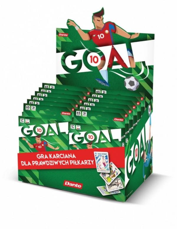 Gra karciana Goal display 12 sztuk (09853/dspl)