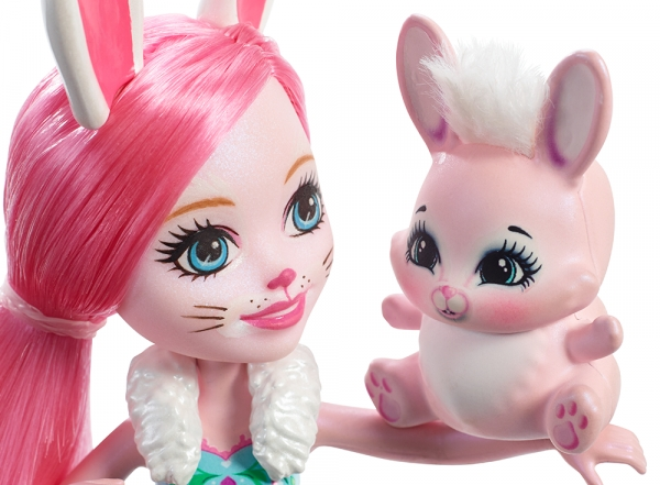 Enchantimals: Lalka Bree Bunny + Zwierzątko (DVH87/DVH88)
