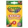 Kredki świecowe Crayola, 8 kolorów (0008)