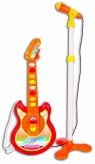 Gitara elektroniczna w zestawie z mikrofonem (041-19113)