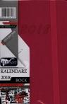 Kalendarz Rock różowy A7 tyg. 2018