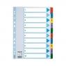 Przekładka numeryczna Esselte Mylar kartonowe A4 (mix) 1-10  mylar 160g (100161)