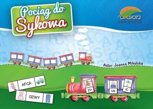 Pociąg do Sykowa Joanna Mikulska