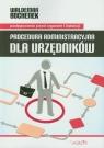 Procedura administracyjna dla urzędników postepowanie przed organem I Bochenek Waldemar